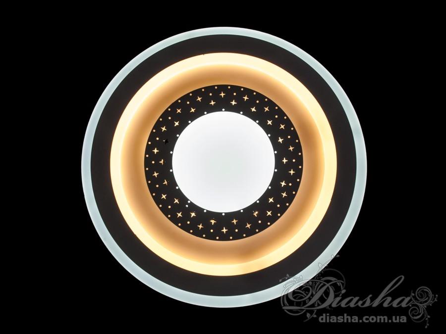 Светодиодный светильник настенно-потолочный 38WСветодиодные бра, светодиодные панели, Светодиодные люстры, Светильники-таблетки, Новинки