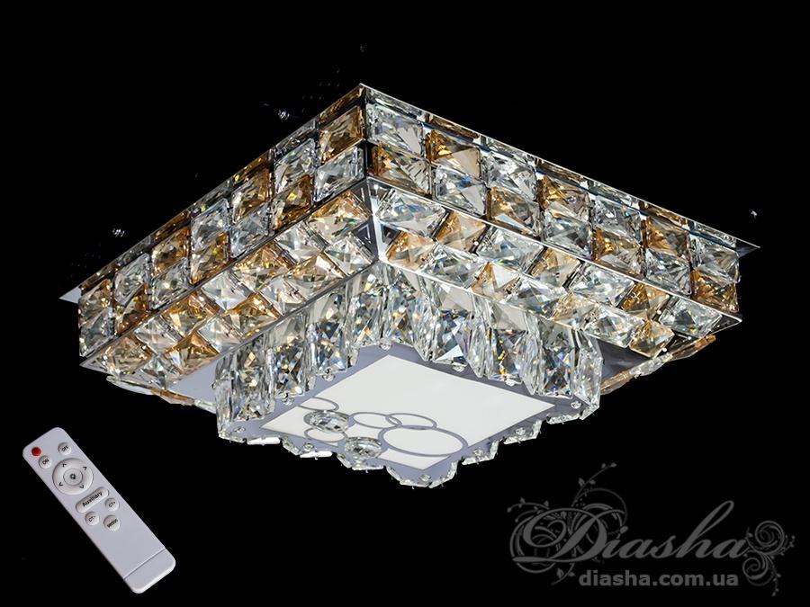 Светодиодные люстры «торт» с димером, 100WПотолочные люстры, Люстра