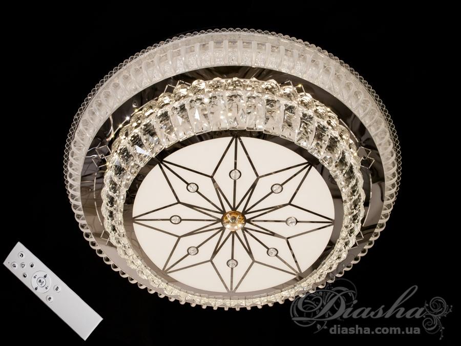Светодиодные люстры «торт» с димером, 115WПотолочные люстры, Люстра