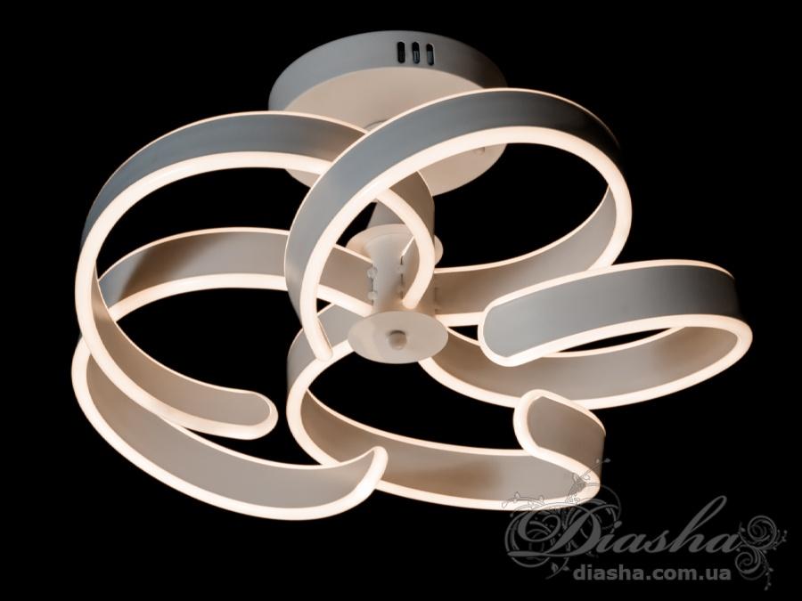 Потолочная светодиодная люстра, 100WПотолочные люстры, Светодиодные люстры, Люстры LED, Потолочные, Новинки