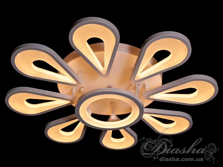 Потолочная светодиодная люстра 120WПотолочные люстры, Светодиодные люстры, Люстры LED, Потолочные