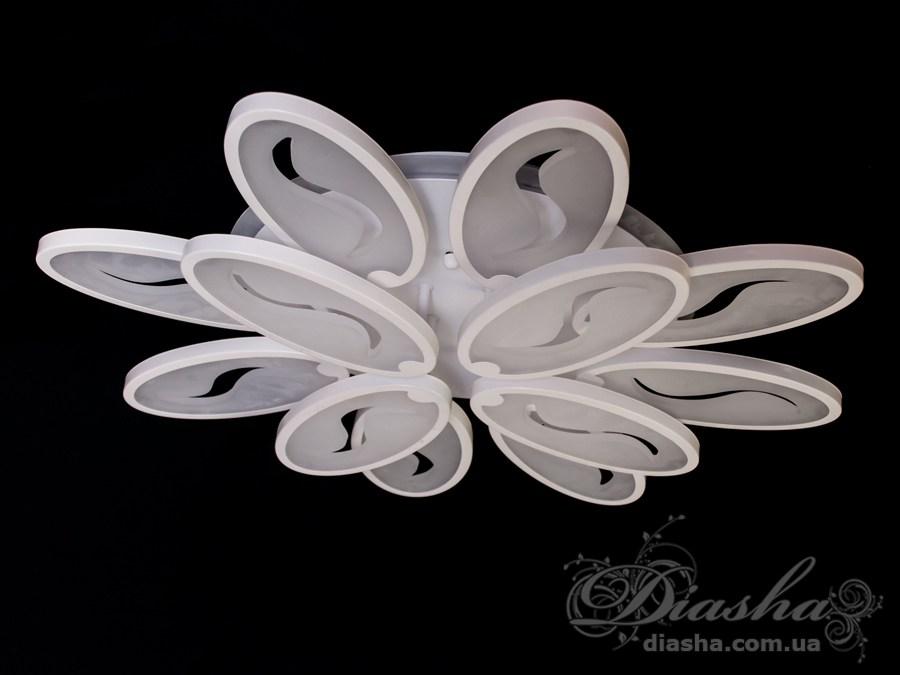 Потолочная LED-люстра с подсветкой 165WПотолочные люстры, Светодиодные люстры, Люстры LED, Потолочные, Новинки