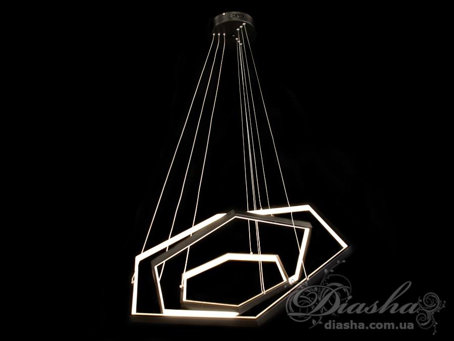 Современная светодиодная люстра, 80WСветодиодные люстры, Люстры LED, Подвесы LED, Новинки