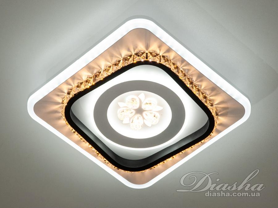 Перед Вами совсем новое и необычное исполнение плафонов, обрамляющих LED лампы. Такое бра запросто подойдет под любой интерьер – классический, современный и даже в стиле «хай-тек». Изящные накладные светодиодные светильники предназначены для создания яркого светодиодного освещения с регулируемой цветовой температурой от тёплого белого до холодного белого. И при этом являться украшением интерьера, а не просто утилитарным светильником как обычная светодиодная панель. Переключение спектров свечения светодиодной панели осуществляется простым выключением-включением. Светодиодный светильник позволяет выбирать режим освещения от времени суток и выполняемых под его светом задач. Светильники этой модели могут быть установлены в отверстие 100мм, или как накладные светильники. Весь необходимый крепеж в комплекте.