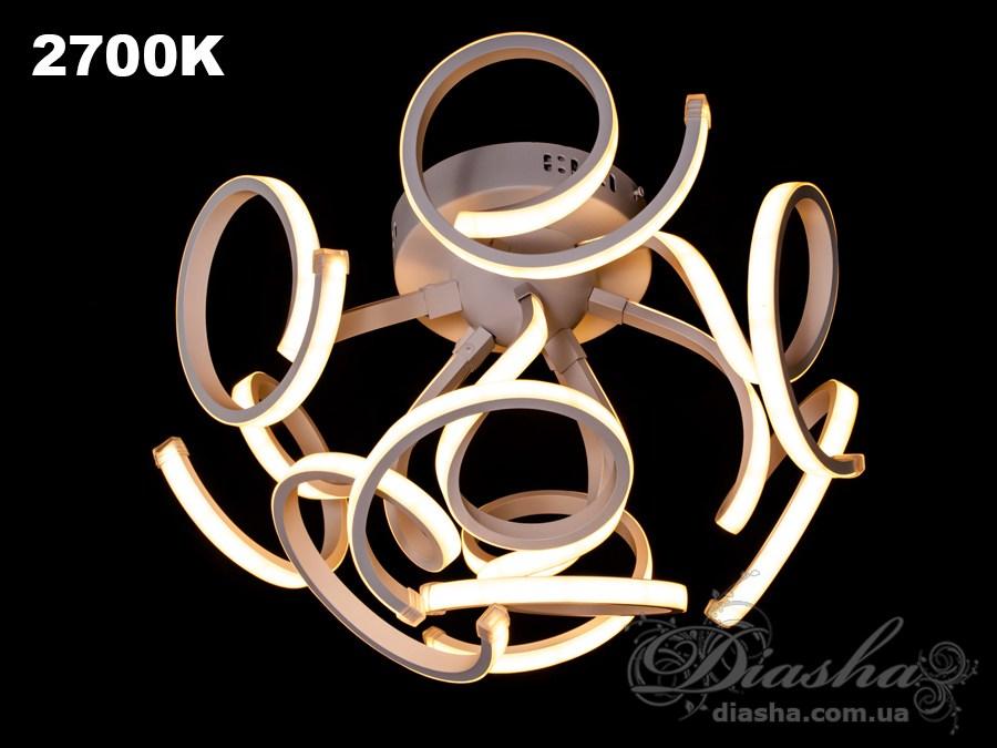 Современная светодиодная люстра, 60WПотолочные люстры, Светодиодные люстры, Люстры LED, Потолочные