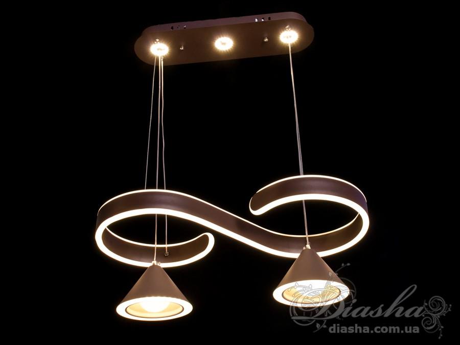 Современная светодиодная люстра, 70WСветодиодные люстры, Люстры LED, Подвесы LED, Новинки
