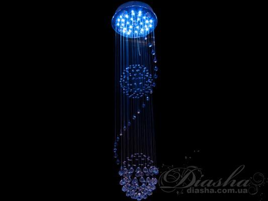 Новое направление среди светильников - галогеновые люстры с хрустальными подвесками! Благодаря разнообразию размеров, новые каскады, производящиеся под торговой маркой