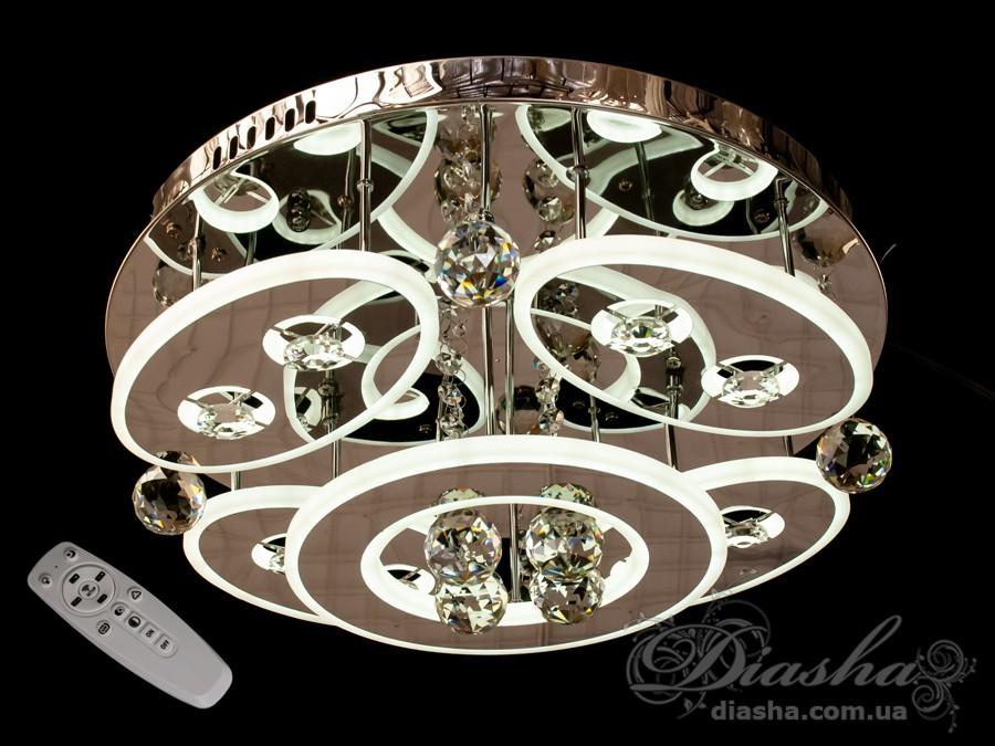 Светодиодные люстры «торт» с димером, 155WПотолочные люстры, Люстра