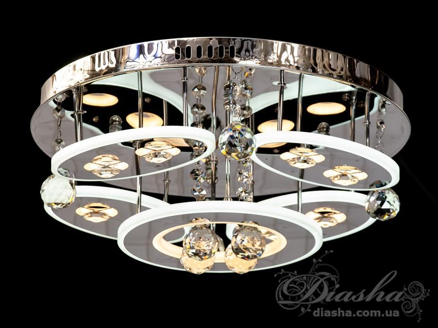 Светодиодная люстра «торт», 80WПотолочные люстры, Люстра