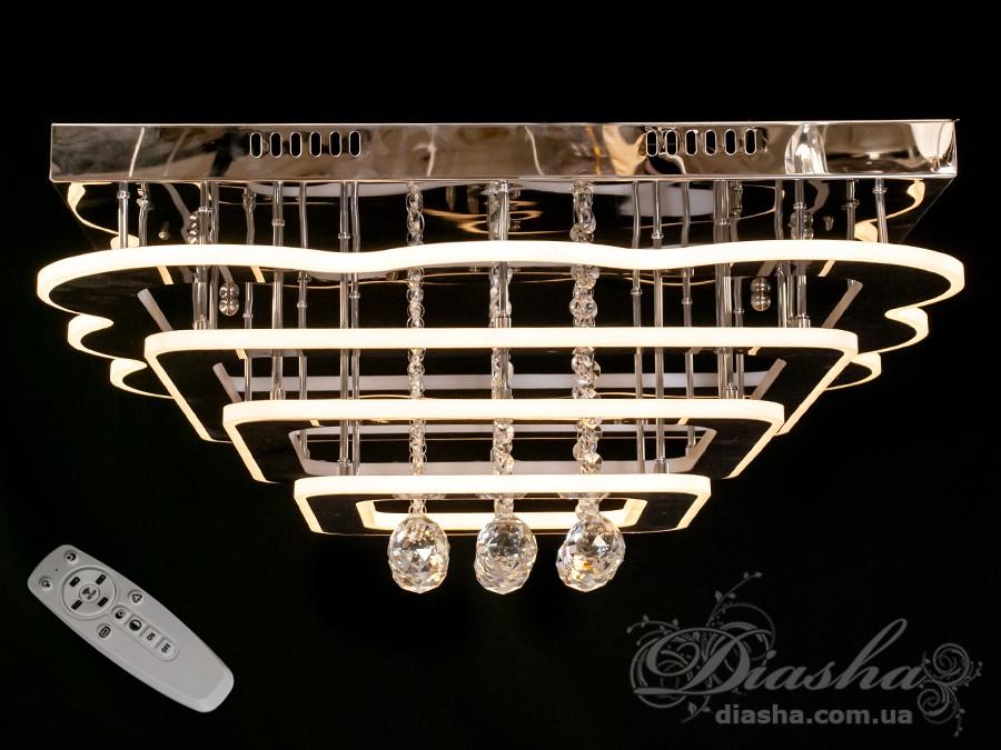 Светодиодные люстры «торт» с димером, 220WПотолочные люстры, Люстра