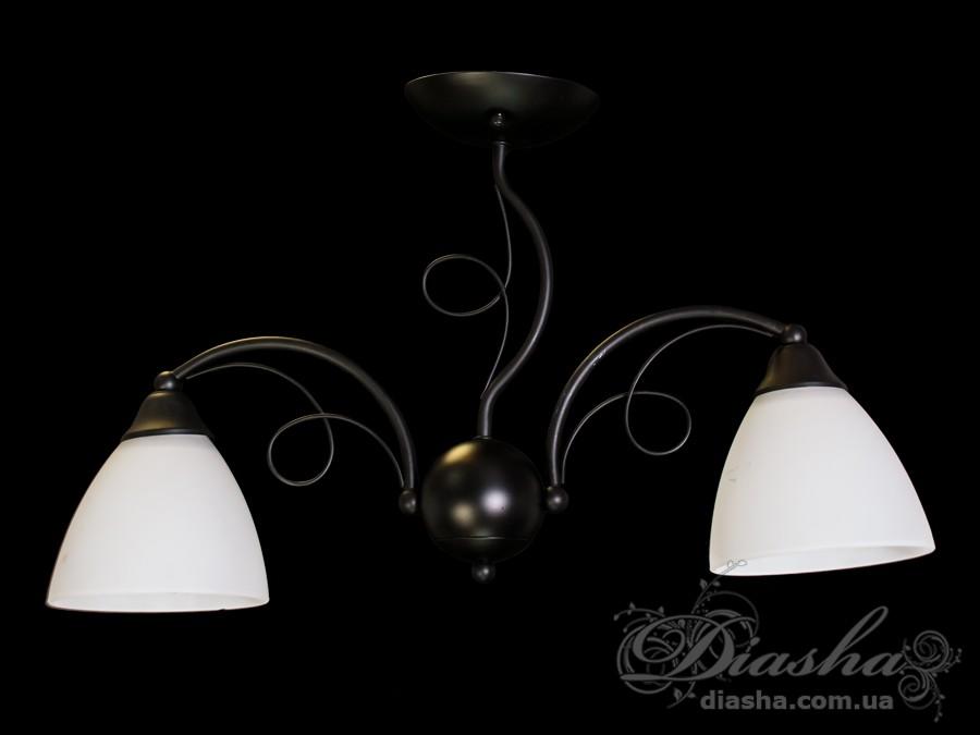 Недорагая классическая люстра на 2 лампыНедорогие люстры, Люстры классика