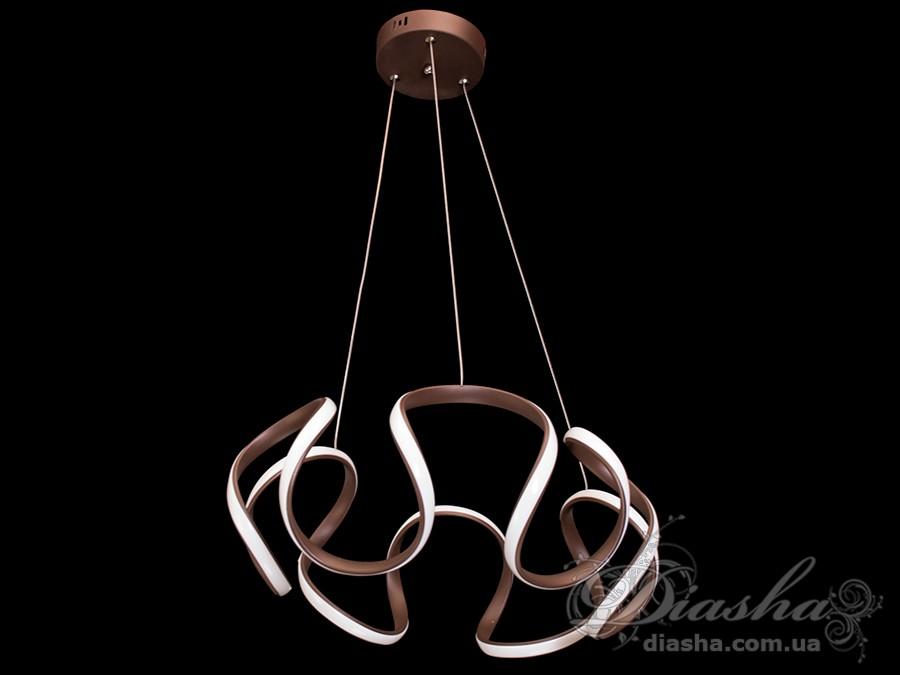 Современная светодиодная люстра, 55WСветодиодные люстры, Люстры LED, Подвесы LED, Новинки