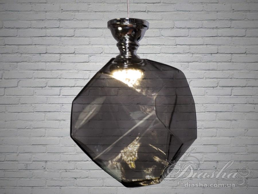Диодная люстра Loft с тонированным стекломСветильники