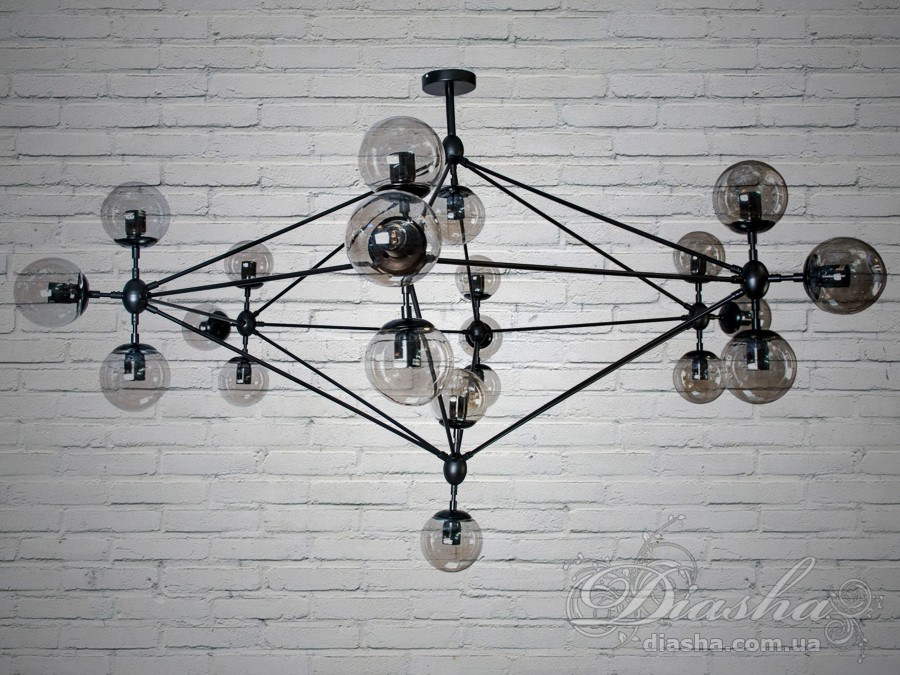 Люстра Loft на 21 лампуСветильники