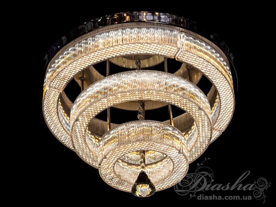 Светодиодная люстра-подвесСветодиодные люстры, Люстры LED, Подвесы LED, Новинки