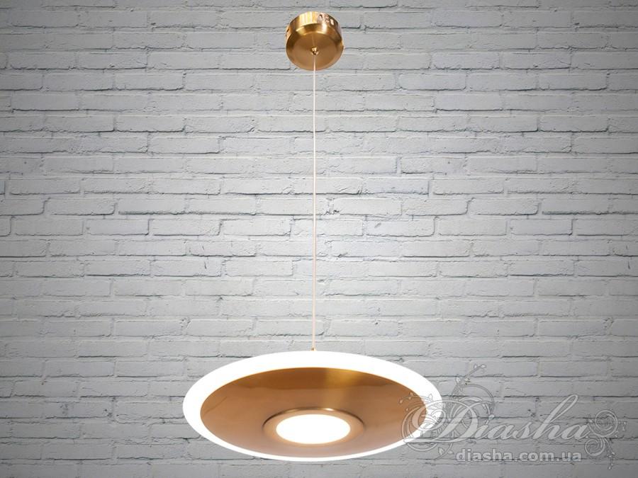 Светодиодный подвес скандинавский лофт, 16WПодвесы LED, Минимализм, Светильники