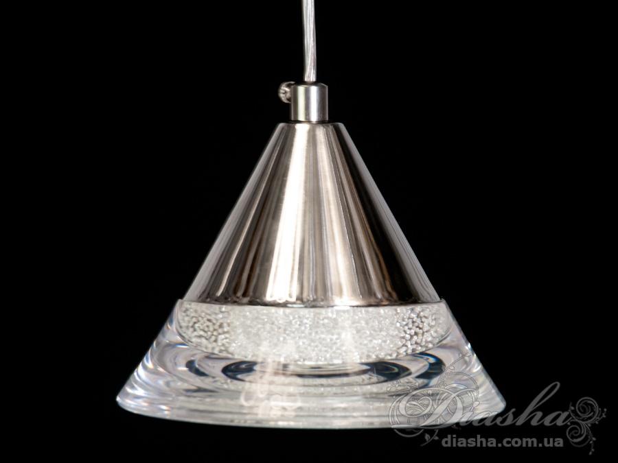 Современная светодиодная люстра, 6WСветодиодные люстры, Люстры LED, Подвесы LED