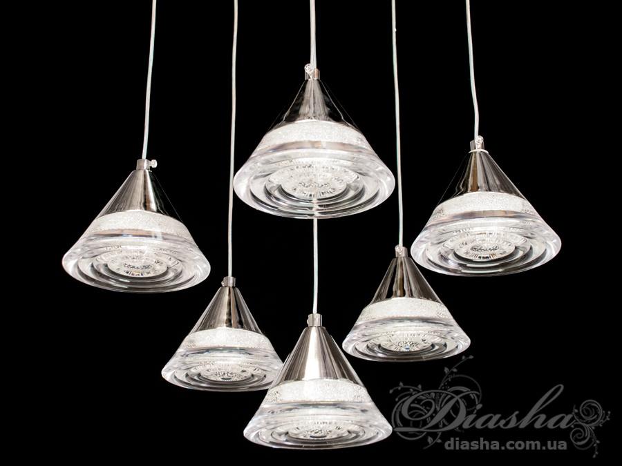 Современная светодиодная люстра, 35WСветодиодные люстры, Люстры LED, Подвесы LED, Новинки
