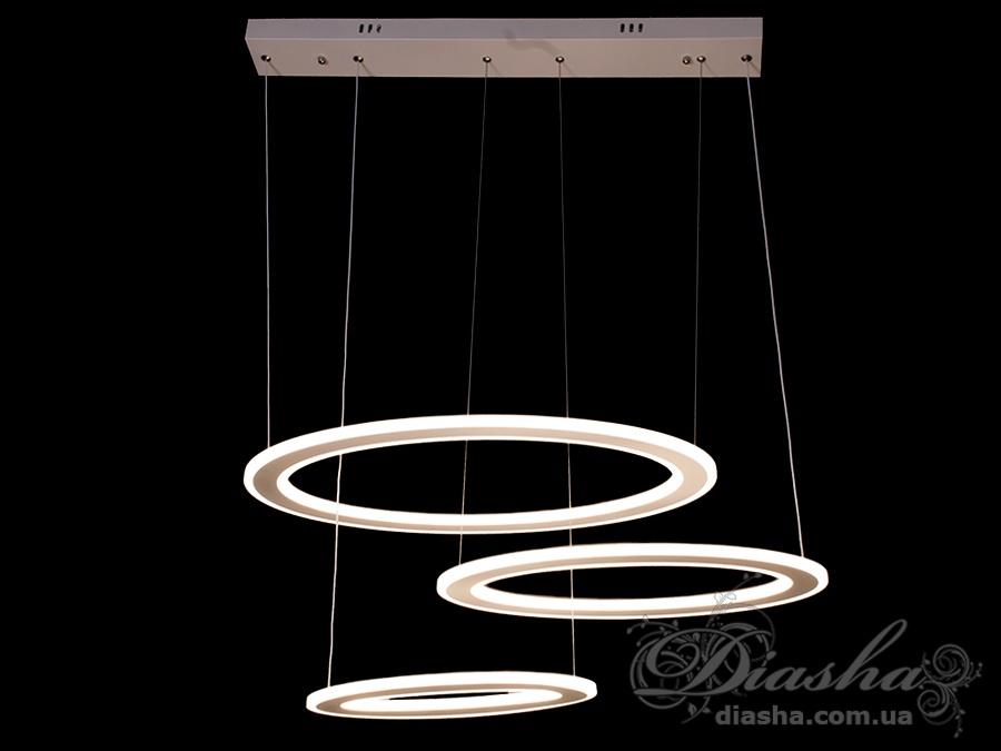 Современная светодиодная люстра, 155WСветодиодные люстры, Люстры LED, Подвесы LED