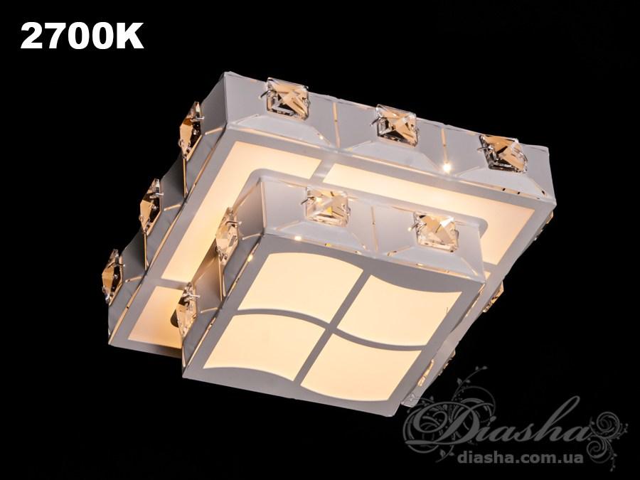 Хрустальный светодиодный точечный светильник 10WВрезка, Точечные светильники, Хрустальные точечные светильники, Новинки