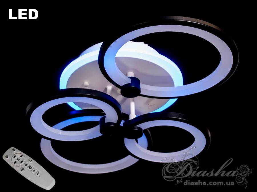 Потолочная светодиодная люстра 90WПотолочные люстры, Светодиодные люстры, Люстры LED, Потолочные, Новинки