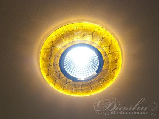 Точечный светильник со встроенной светодиодной лампой 809G-44LED downlights, Точечные светильники, Серия SBT, Врезка