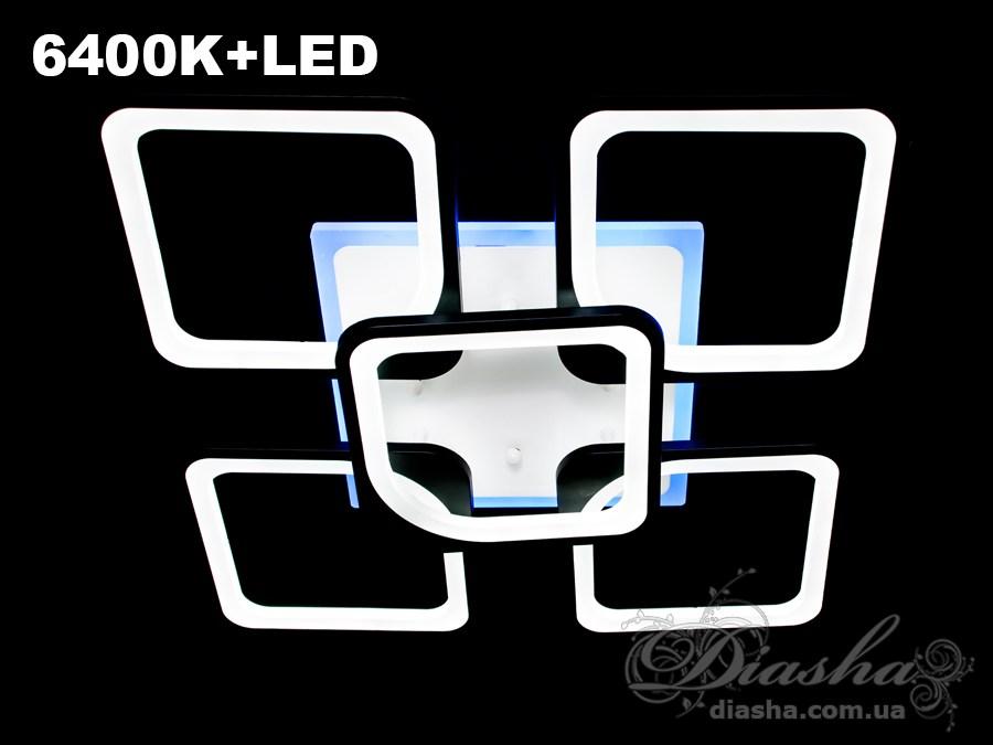 Сверхъяркая светодиодная люстра 155WПотолочные люстры, Светодиодные люстры, Люстры LED, Потолочные