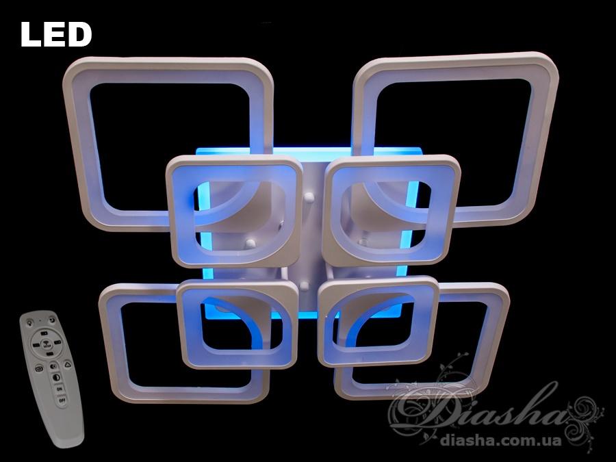 Сверхъяркая светодиодная люстра 190WПотолочные люстры, Светодиодные люстры, Люстры LED, Потолочные
