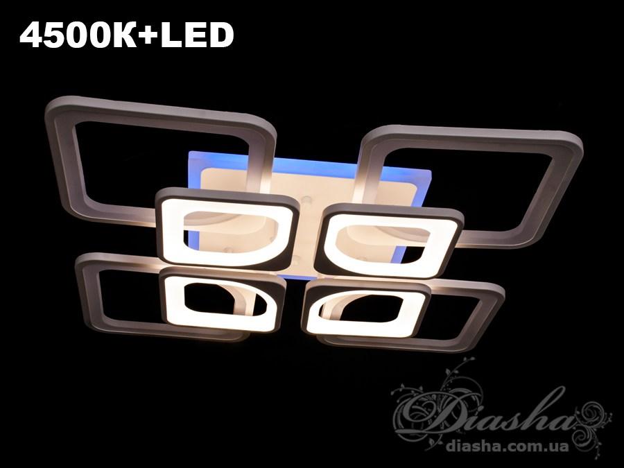 Сверхъяркая светодиодная люстра 190WПотолочные люстры, Светодиодные люстры, Люстры LED, Потолочные, Новинки