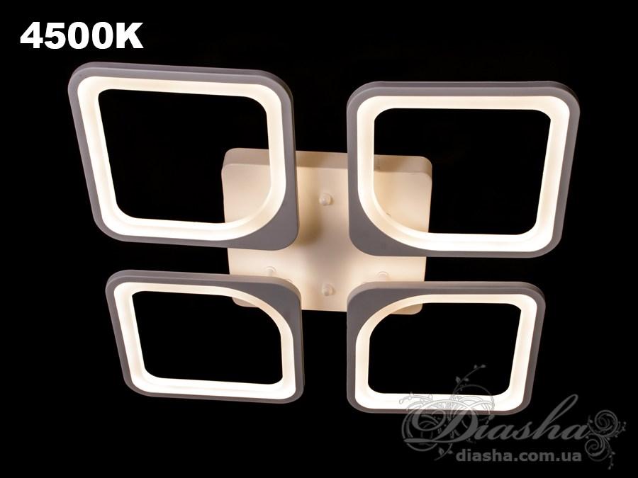Сверхъяркая светодиодная люстра 110WПотолочные люстры, Светодиодные люстры, Люстры LED, Потолочные