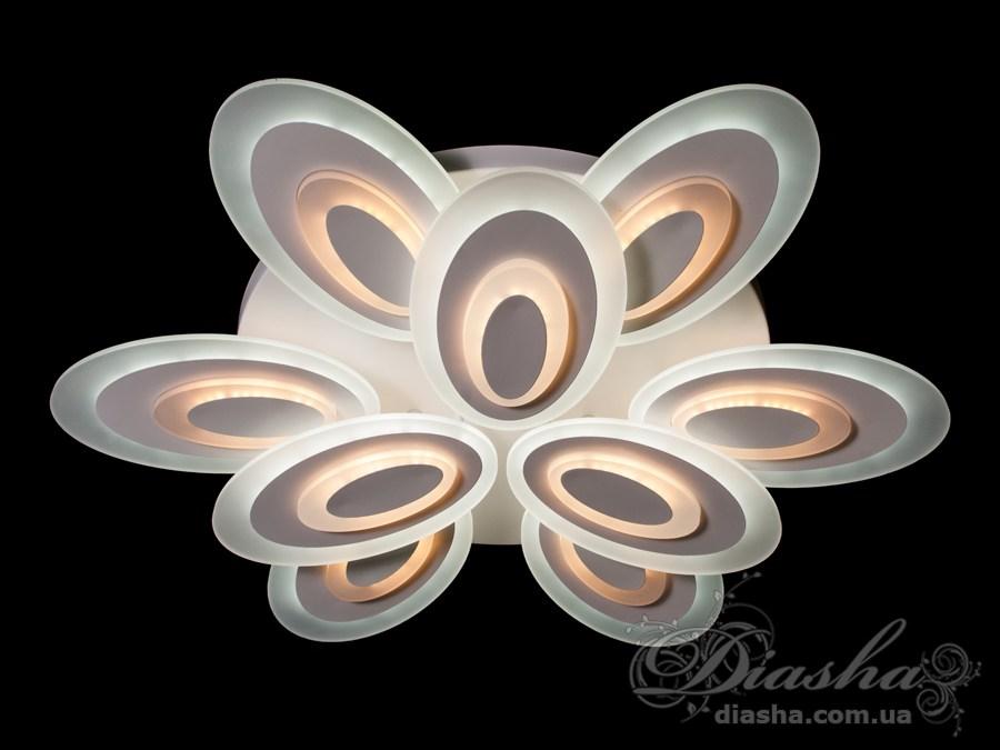 Потолочная светодиодная люстра, 220WПотолочные люстры, Светодиодные люстры, Люстры LED, Потолочные