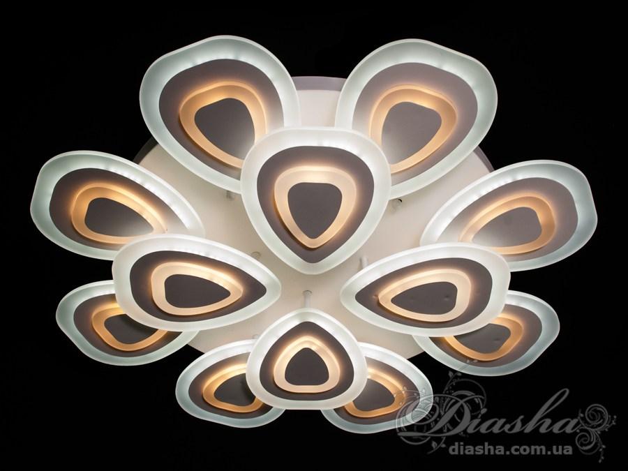 Потолочная светодиодная люстра, 250WПотолочные люстры, Светодиодные люстры, Люстры LED, Потолочные, Новинки