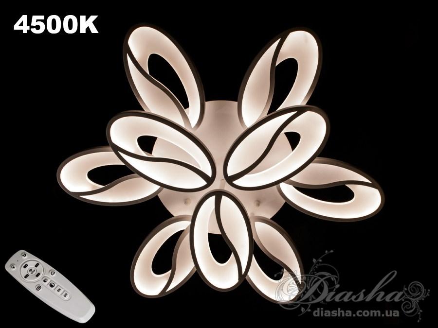 Потолочная LED-люстра с диммером, 170WПотолочные люстры, Светодиодные люстры, Люстры LED, Потолочные, Новинки