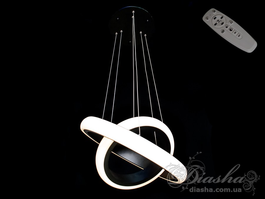 Современная светодиодная люстра с диммером, 40WСветодиодные люстры, Люстры LED, Подвесы LED, Новинки