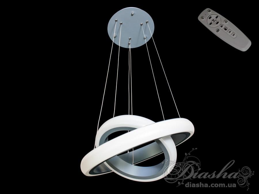 Современная светодиодная люстра с диммером, 40WСветодиодные люстры, Люстры LED, Подвесы LED