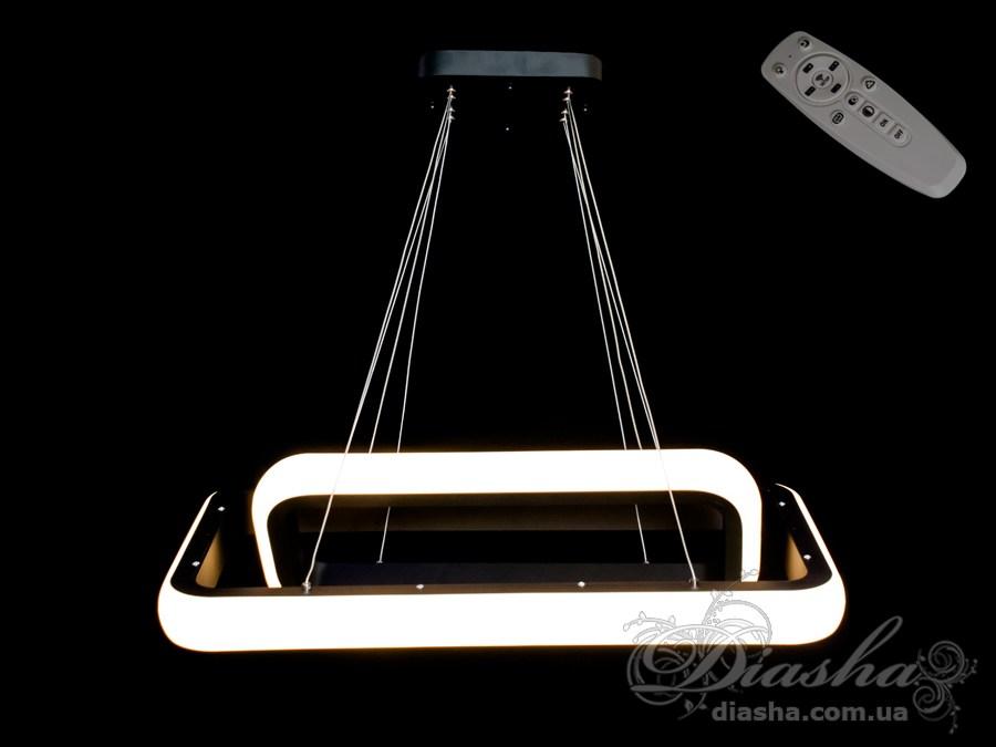 Современная светодиодная люстра с диммером, 55WСветодиодные люстры, Люстры LED, Подвесы LED, Новинки