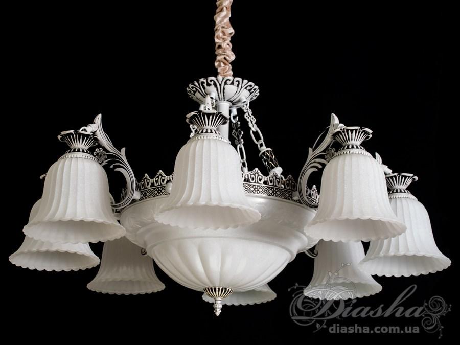 Люстра в античном стиле на 11 лампЛюстры классика, Римская серия