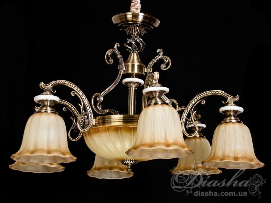 Люстра в античном стиле на 8 лампЛюстры классика, Римская серия