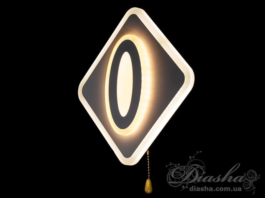 Светодиодный светильник настенно-потолочный 22WСветодиодные бра, светодиодные панели