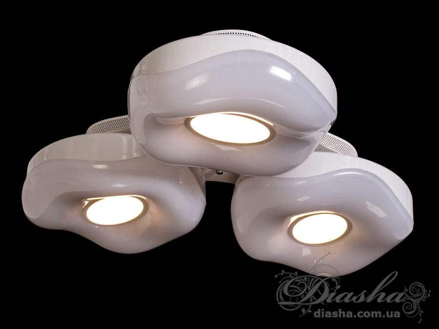 Светильник с регулируемым цветом свечения 96WПотолочные люстры, Светодиодные люстры, светодиодные панели, Люстры LED