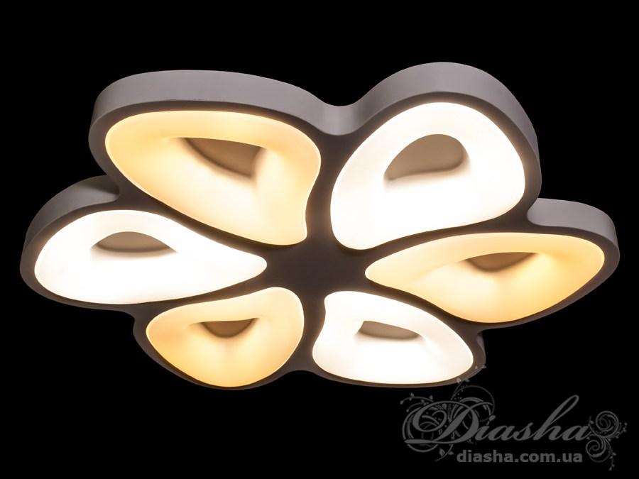 Светильник с регулируемым цветом свечения 116WПотолочные люстры, Светодиодные люстры, светодиодные панели, Люстры LED