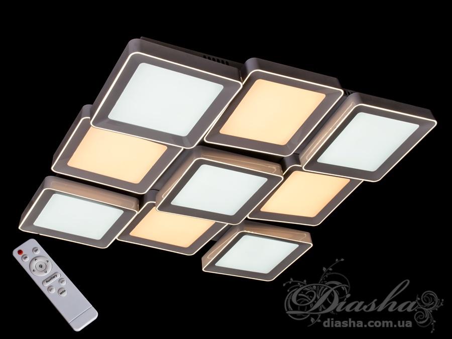 Светильник с регулируемым цветом свечения 270WПотолочные люстры, Светодиодные люстры, светодиодные панели, Люстры LED