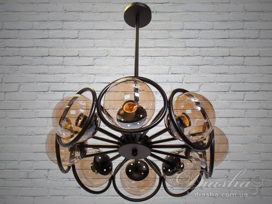 Люстра Loft на 8 лампСветильники