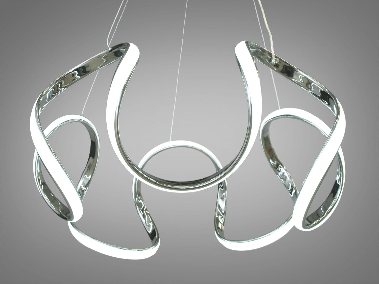 Перед Вами совсем новое и необычное исполнение плафонов, обрамляющих LED лампы. Такая люстра запросто подойдет под любой интерьер – классический, современный и даже в стиле «хай-тек». С выключателя люстра переключается как и любая другая светодиодная люстра. Каждое включение выключение поочередно переводит люстру по следующим режимам: холодный свет, тёплый свет, нейтральный свет.