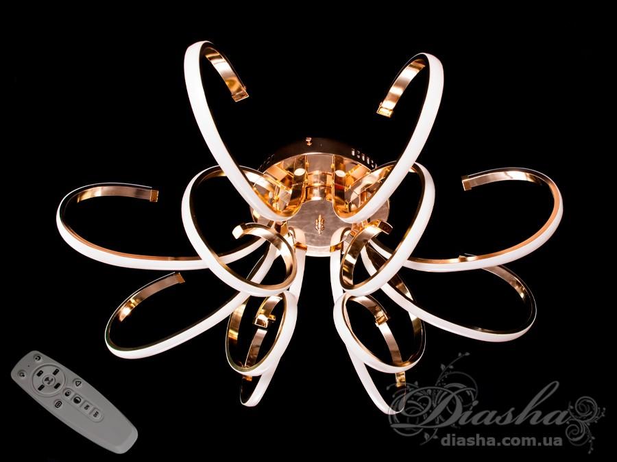 Потолочная светодиодная люстра с димеромПотолочные люстры, Светодиодные люстры, Люстры LED, Потолочные