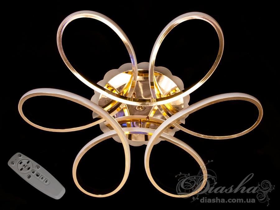 Потолочная светодиодная люстра 125WПотолочные люстры, Светодиодные люстры, Люстры LED, Потолочные, Новинки
