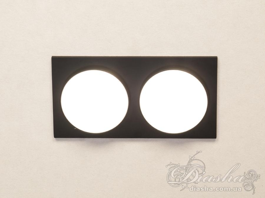 Двойной точечный светильник, серия