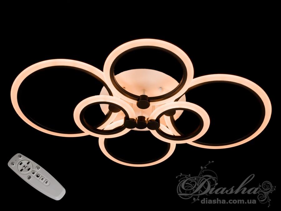 Потолочная светодиодная люстра 110WПотолочные люстры, Светодиодные люстры, Люстры LED, Потолочные, Новинки