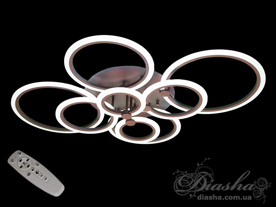 Потолочная светодиодная люстра 180WПотолочные люстры, Светодиодные люстры, Люстры LED, Потолочные