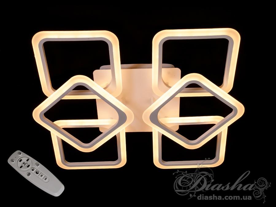 Потолочная светодиодная люстра 130WПотолочные люстры, Светодиодные люстры, Люстры LED, Потолочные
